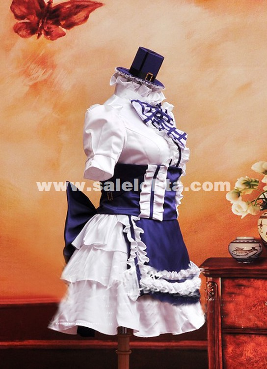 2019 Anime MACROSS Sheryl Nome Cosplay Maid Dress Anime Cosplay Party Dress
