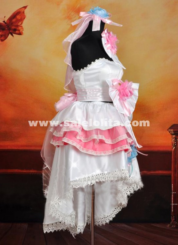 2015 Macross Frontier The False Songstress Cosplay Dress Ladies Lolita Party Dress