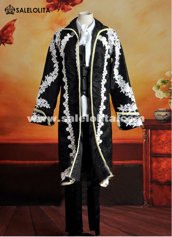 2015 New Anime Vocaloid Kaito Cosplay Coat