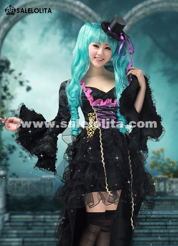 2019 Anime VOCALOID Miku Cosplay Dress