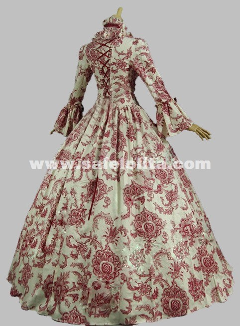 Georgian Victorian Gothic Period Dress Historical Medieval Reenactment Stage Theatre Costume