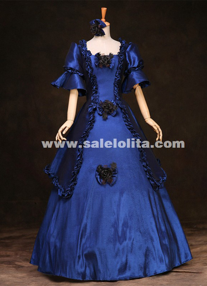 Marie Antoinette Victorian Era Period Costumes Renaissance Meval Dresses Historical Gothic Prom Dress
