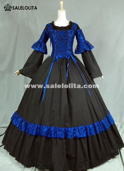 Medieval Renaissance Gothic Steampunk Corset Dress Women Period Gown Cosplay Clothing