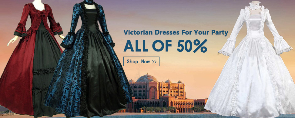 Brand New Medieval Renassance Victorian Ball Gown Dresses For Women