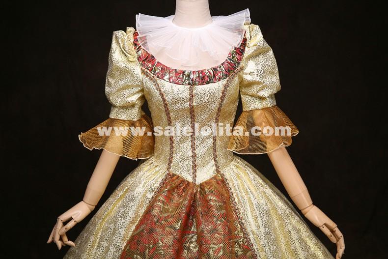 High-grade British Queen Marie Antoinette Dress 18th Century Rococo Renaissance Historical Victorian Era Costume Theare Costume