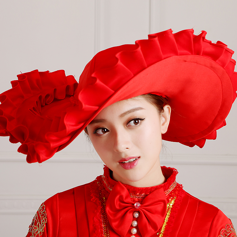 Detail Of Red Palace Vintage Medieval Renaissance Marie Antoinette Wedding Party Dress For Women_2