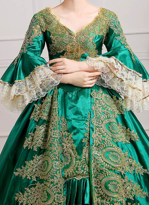 Green Palace Marie Antoinette Dress
