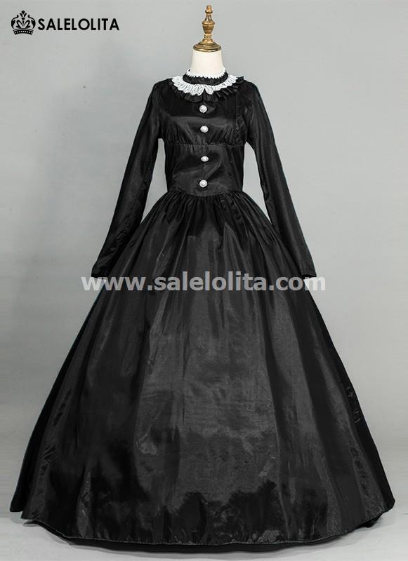 Black Victorian Civil War Dress